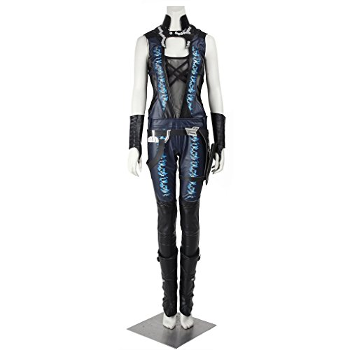 CosplayDiy Women's Fancy Dress for Guardians of The Galaxy Gamora Cosplay