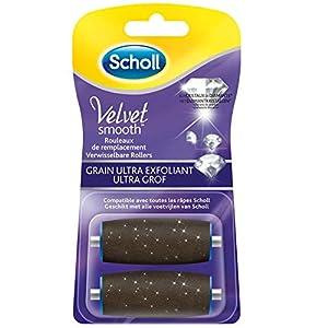Scholl Rouleaux de remplacement Velvet Smooth grain ultra exfoliant – Les 2 recharges
