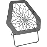 Impact Canopy 460070013 Hex Portable Folding Bungee Chair, Gray