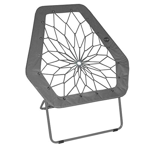 Impact Canopy Bungee Chair, Portable Folding Chair, Hex, Gray ()