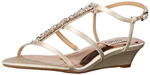 Sandalo Con Zeppa Di Badgley Mischka Da Donna