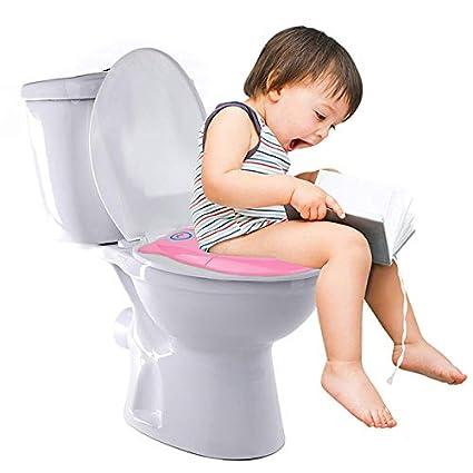 Tapa WC Plegable para Los Ni/ños de Viajes Ksell Asiento Plegable Inodoro Port/átil para Ni/ños Beb/és