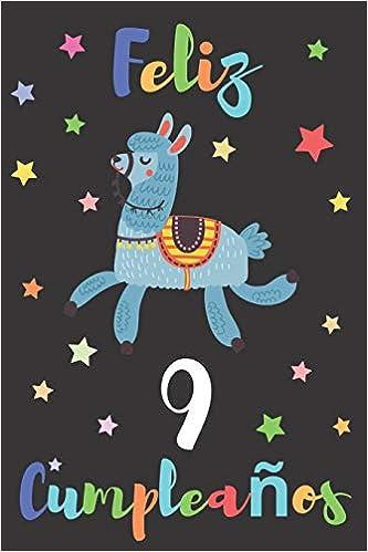 Feliz 9 Cumpleaños: Regalo para Niños o Niñas de 9 Años ...