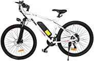 GOTRAX EBE3 27.5inch Electric Bike with 48V 10Ah Removable Lithium-Ion Battery, 500W Powerful Motor up Speed 3