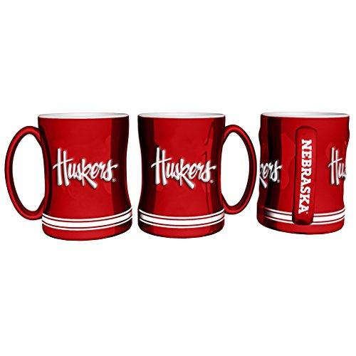 Mug Nebraska Coffee Cornhuskers - Boelter Brands NCAA Nebraska Cornhuskers 403991 Coffee Mug, Team Color, 14 oz