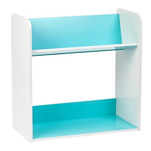IRIS 2 Tier Tilted Shelf White