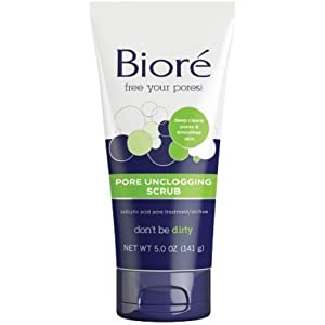 Bioré Pore Unclogging Scrub (5 oz)