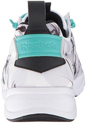 Acqua Femminile Bianco Grafica Nero Intramontabile Furylite Reebok Sneaker Floreale Floreale Moda Nero bianco Verde FTwqnBz
