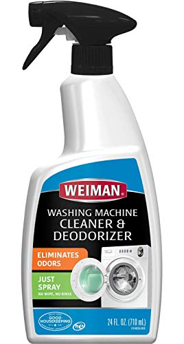 Weiman Washing Machine Cleaner and Deodorizer - Cleans Washing Machines Without Damaging Clothing - 24 Fl. ()