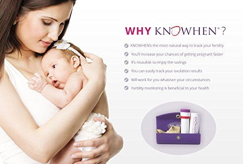 KNOWHEN Advanced Saliva Ovulation Predictor Test Kit with Fertility Monitor App, Reusable Daily with 98.9% Accuracy by Knowhen (Image #2)