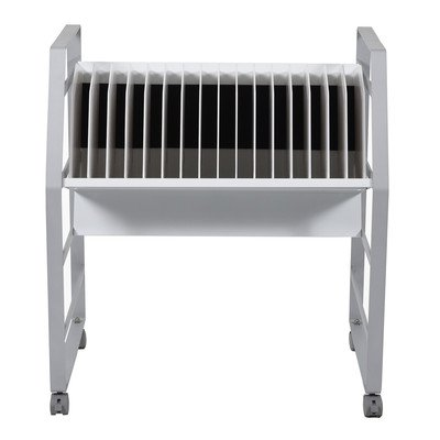 Open Charging Cart in Gray (Stow And Go Cart)