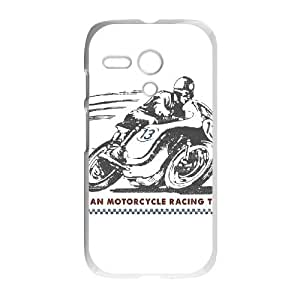 Motorola G Cell Phone Case White_American Motorcycle Racing Team TR2275845
