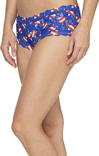 Hanky Panky Women's Star Spangled Boyshorts Multicolor Underwear - Hanky Panky Mid Rise