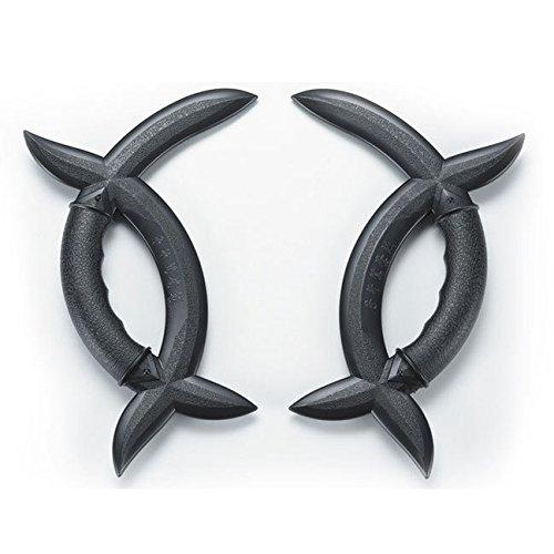 Black Polypropylene Wushu Meridian Axe Couple
