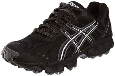 Asics - Zapatillas de Material Sintético para mujer Negro negro/gris