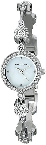 Anne-Klein-Womens-AK1803MPSV-Swarovski-Crystal-Accented-Silver-Tone-Bangle-Watch