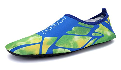 EwigYou 44 Wassersportschuhe Wasserschuhe Erwachsene Surfschuhe für Liebspaar Aquaschuhe Blau Schnelltrockende Badeschuhe EU Wahl Strandschuhe Unisex Schwimmschuhe 35 zur FxUEF4w6qr