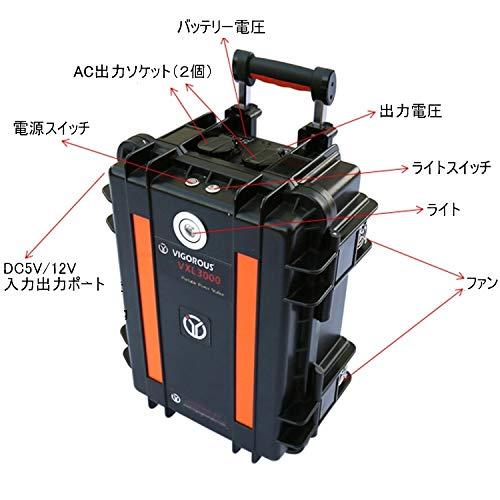 OptimumNano 2880Wh AC出力1800W リン酸鉄リチウム