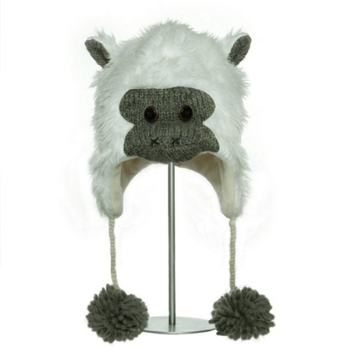 (deluX Knitwits Albert the Ape Animal Hat (Adult) )