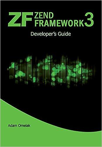Amazon com: Zend Framework 3  Developer's Guide (9781983514647