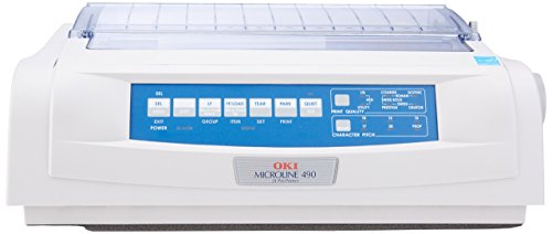 Okidata ML490 24-PIN IMPACT PRINTER (Renewed)