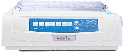 Okidata ML490 24-PIN IMPACT PRINTER (Renewed)