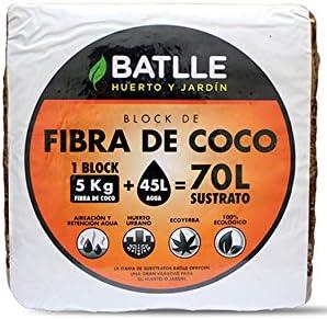 Sustratos Ecológicos - Block de Fibra de coco 5kg - Batlle
