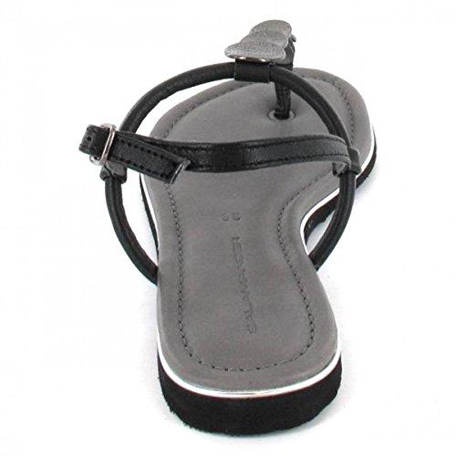 Salamander Sandalette Rosetta, Farbe: schwarz
