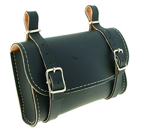 Wag Satteltasche verkleidet schwarz (Taschen Schabracke)/Underseat Leatherlike Bag Black (Wing Case)
