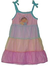 NICKELODEON Girl's Size 2/3 DORA Summer Nightgown