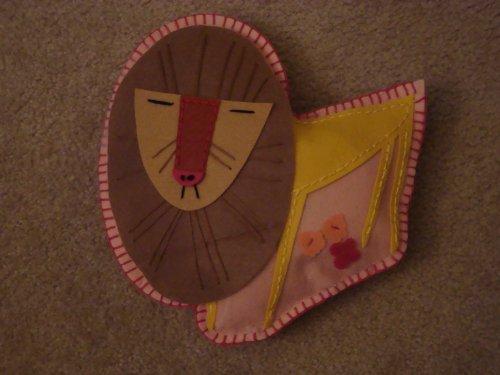 Kid Made Modern Creature Cushion Kit Lion Featured Artist Charley Harper