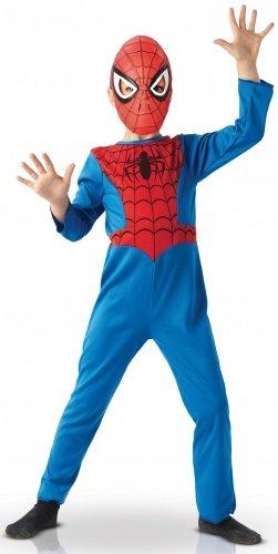Disfraz Spiderman version infantil - De 5 a 6 años: Amazon.es ...