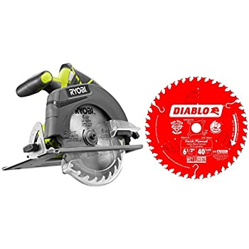 Ryobi p507 one 18 volt 6 12 in cordless circular saw bare tool ryobi p507 one 18 volt 6 12 in cordless circular saw greentooth Gallery