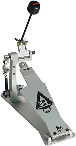 Axis Sabre A21 Single Bass Drum Pedal with Microtune Spring Tensioner Silver
