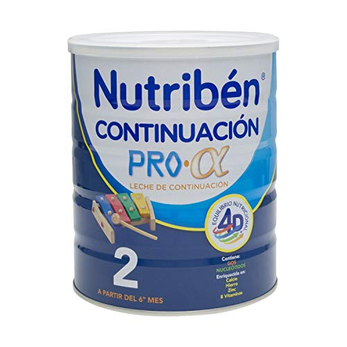 Nutribén Follow-on Milk 800g - Baby Food - Body Metabolism - Enriched With Vitamins - 6 Months of age and Onwards