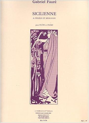 Sicilienne Opus 78 Fl/ûte et piano