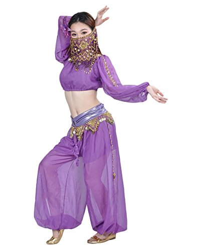 AvaCostume Belly Bloomers Indian Costume