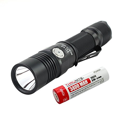 ThruNite® TC12 Max 1000 Lumen CREE XP-L V6 Wiederaufladbare LED Taschenlampe
