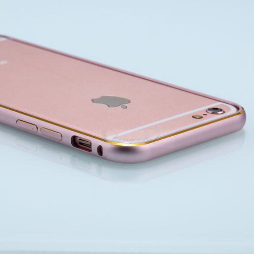best website c4362 97fd6 Kapa Dual Color Ultra Thin Metal Bumper Case Cover for Apple iphone SE 5 5S  - Rose Gold
