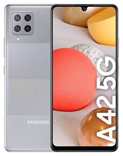SAMSUNG Galaxy A42 5G, Smartphone Android Libre de 6.6″ HD+, 4G RAM 128GB Memoria Interna Ampliable, Batería 5.000 mAh y Carga rápida Color Gris [Versión española]