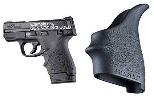 S&W M&P Shield 9mm & .40 Ruger LC9 Beavertail Grip Sleeve Hogue 18400 (Grip Shield Hogue)