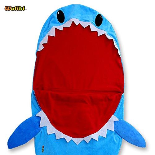 WALIKI Toys Shark Sleeping Bag for Boys and Girls. (Slumber Bag Nap Mat) for $<!--$14.99-->