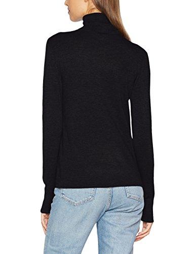Donna Black Nero Felpa Onldina S Pullover Knt L Black Rollneck Only B7qS10PW