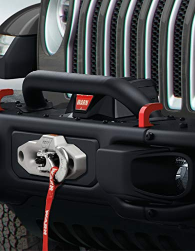 Mopar 82215351 Jeep Wrangler Grille and Winch Guard