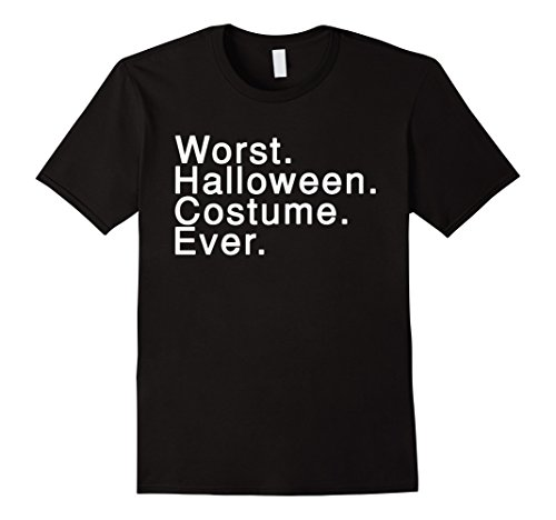 Mens Worst Halloween Costume Ever tshirt XL (Hillarious Costumes)