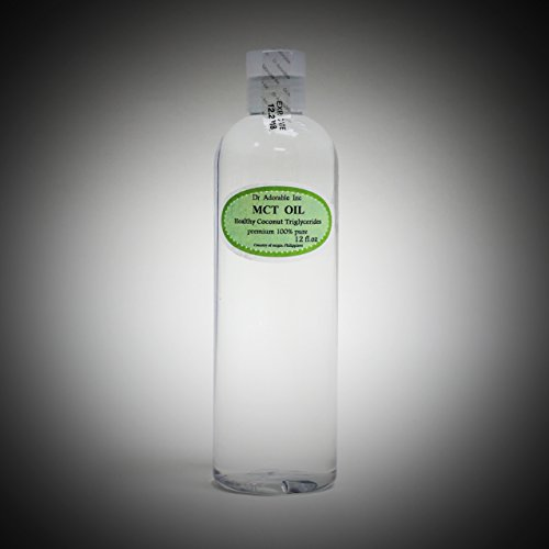 24 Oz Premium MCT Oil derived from Organic Coconut Oil Pure Medium-Chain Triglyceride by Dr Adorable