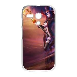 Motorola G Cell Phone Case White League of Legends Prestigious LeBlanc OIW0408660