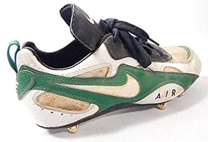 36a02b8db Image Unavailable. Image not available for. Color: Tyrone Williams Signed  Playoff Used Football Shoe Packers Auto ...