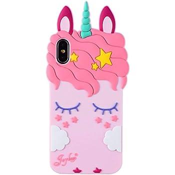 Cute Unicorn iPhone X Cases & Covers