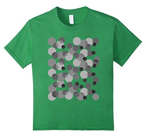 Kids Gray spots Polka dot t-shirt 10 Grass Spot Youth T-shirt